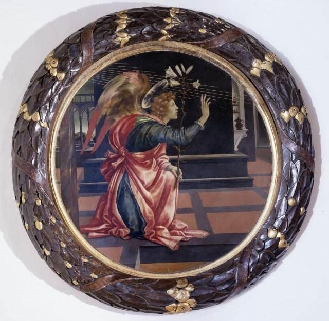 """Da venerdì 29 novembre: L'Annunciazione"""" di Filippino Lippi in mostra a Palazzo Marino"""