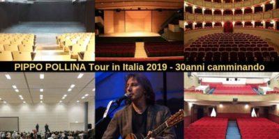 Pippo Pollina 30 anni Camminando - Tour Europeo: live a Milano il 20 novembre