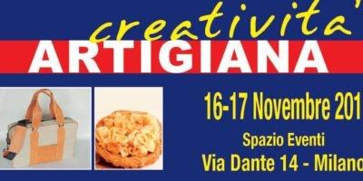 Creatività Artigiana: sabato 16 e domenica 17 novembre a Milano la rassegna nazionale di artigianato artistico italiano