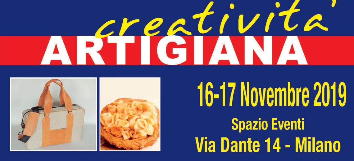 Sabato 16 e domenica 17 novembre Creatività Artigiana in via Dante 14 a Milano