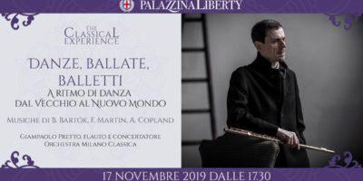 Danze, ballate e balletti: concerto in Palazzina Liberty. Riduzione sui biglietti per i lettori di Eventiatmilano.it