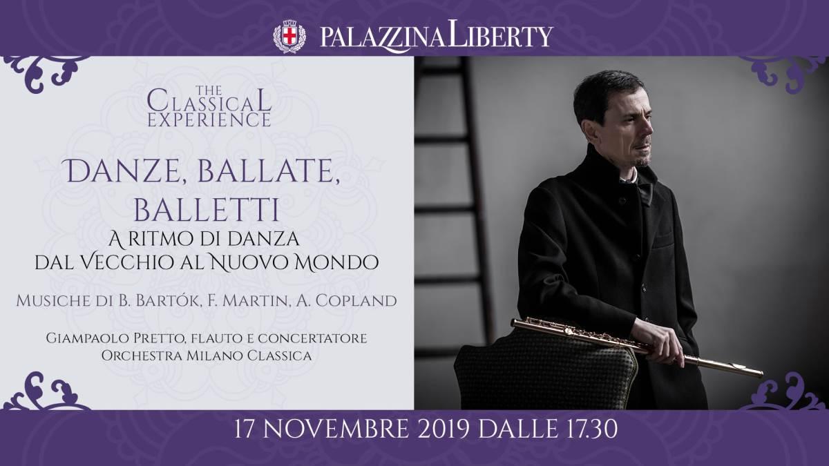 cosa fare domenica 17 novembre a Milano: Danze, ballate e balletti: concerto in Palazzina Liberty