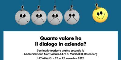 Quanto valore ha il dialogo in azienda? Seminario teorico-pratico in UET Milano