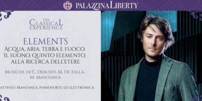 Elements: Matthieu Mantanus in concerto a Milano domenica 24 novembre