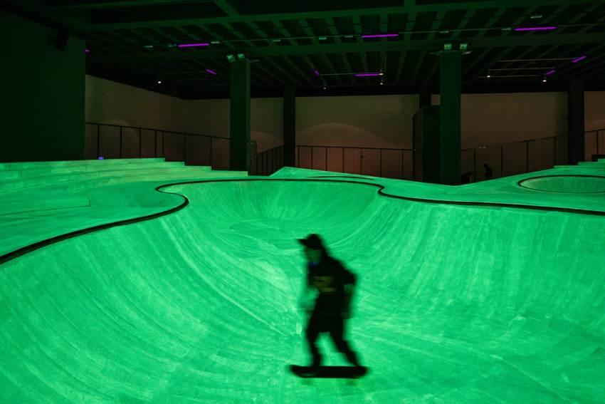 cosa fare a milano venerdì 3 gennaio: Skatepark in Triennale