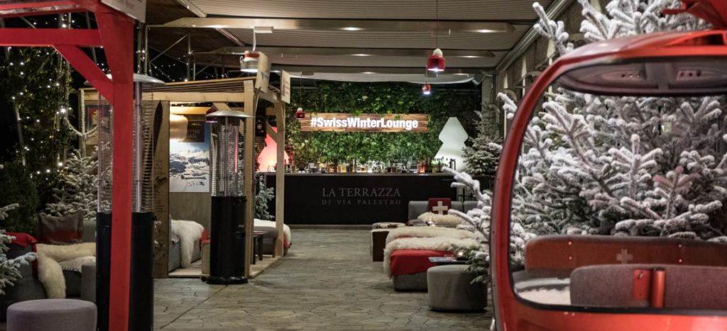 Mercoledì 4 dicembre: Swiss Apero in Terrazza Palestro a Milano