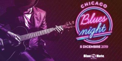 Concerti al Blue Note Milano: giovedì 5 dicembre vivi la Chicago Blues Night in via Borsieri