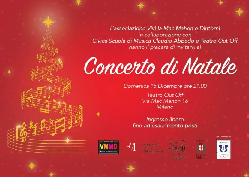 Vivi la Mac Mahon e Dintorni: Concerto di Natale al Teatro Out Off