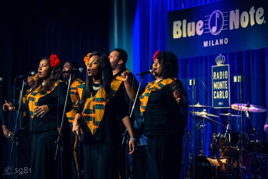cosa fare domenica 29 dicembre a Milano: Harlem Gospel Choir in concerto al Blue Note