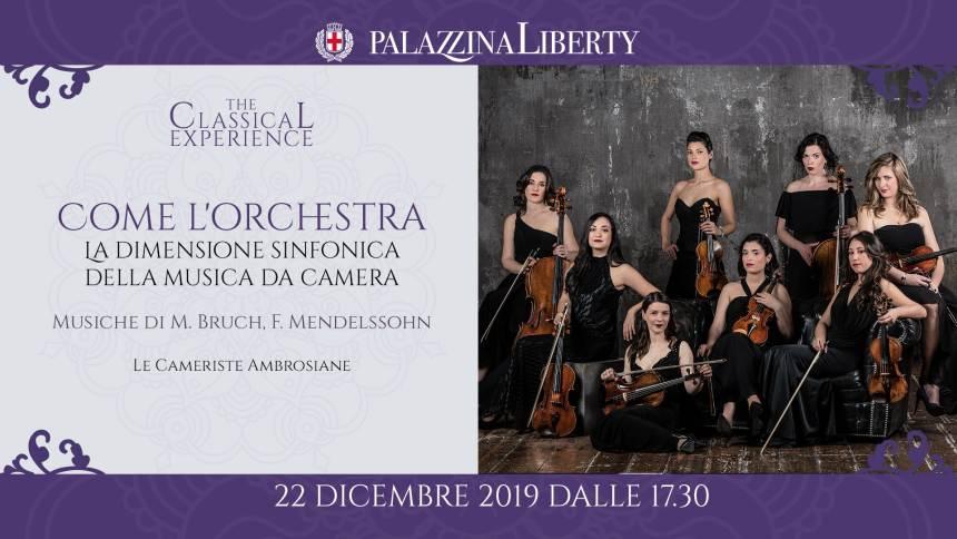 cosa fare a Milano domenica 22 dicembre: Concerto in Palazzina Liberty