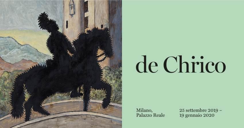 epifania cosa fare a Milano: mostra de Chirico a Palazzo Reale