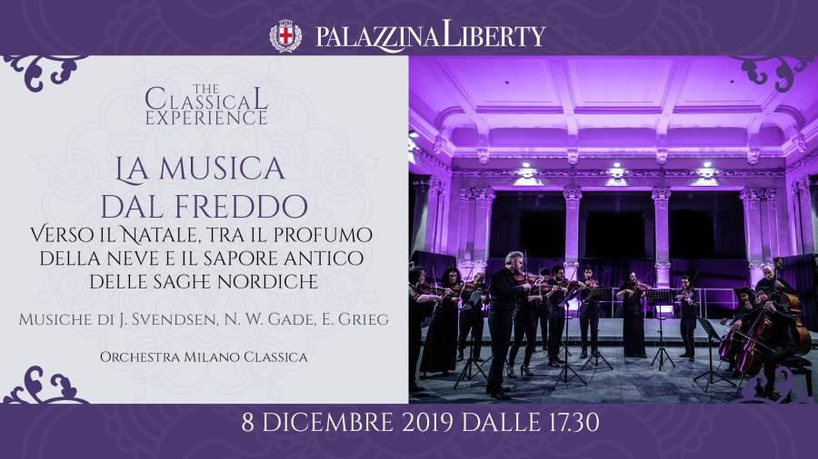 Cosa fare domenica 8 dicembre a milano: Musica dal freddo, concerto in Palazzina Liberty