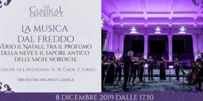 Musica dal freddo: l'Orchestra Milano Classica live in Palazzina Liberty domenica 8 dicembre