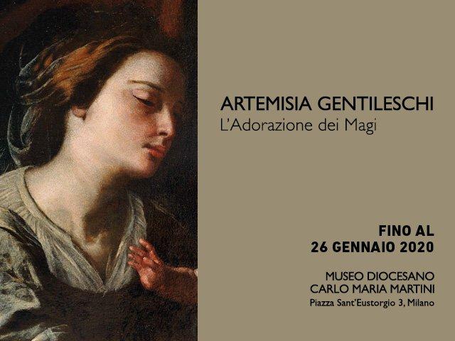 cosa fre a milano fino a domenica 26 gennaio: Adorazione di magi Artemisia Gentileschi visitabile fino al 26 gennaio museo Diocesano Milano