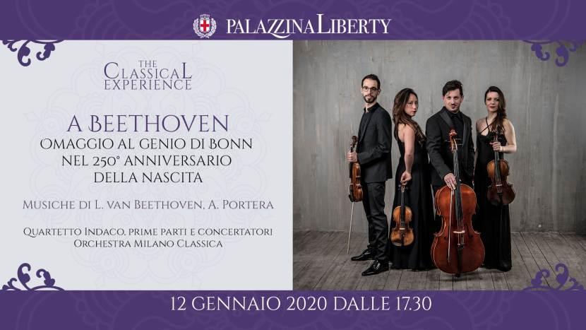 cosa fare a Milano domenica 12 gennaio: concerto a Beethoven