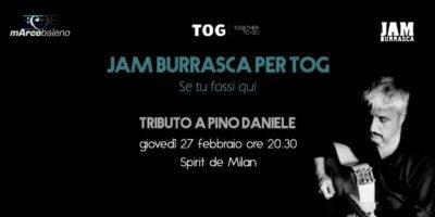 Tributo a Pino Daniele allo Spirit de Milan - Concerto per Fondazione TOG