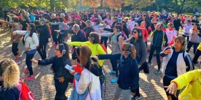 FitnessWalk Milano al Parco di Trenno domenica 19 gennaio