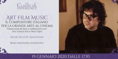 Art Film Music: presentazione del disco di Remo Anzovino in Palazzina Liberty a Milano