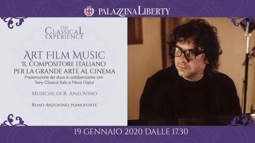 Art Film Music: concerto in Palazzina Liberty domenica 19 gennaio