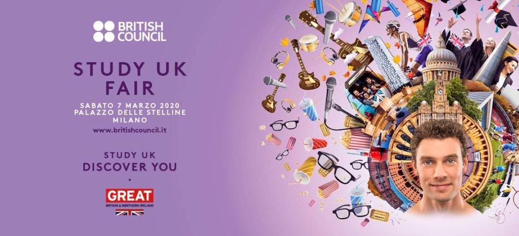"""Torna a Milano """"Study UK Fair"""", la fiera dedicata allo studio universitario nel Regno Unito"""