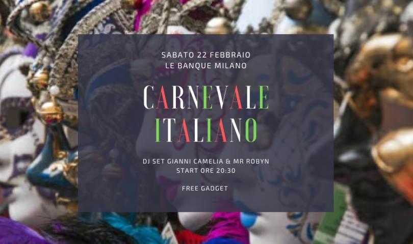 cosa fare sabato 22 febbraio a Milano: Carnevale Italiano
