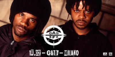DAS EFX in concerto al Gate di Milano il 18 febbraio