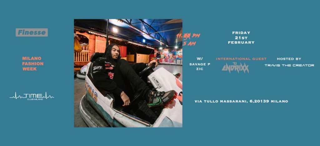 Finesse MFW Party W/ DJ Endrixx hosted by Travis the creator