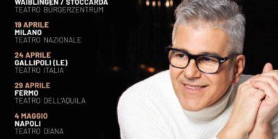 """Concerti a Milano: Michele Zarrillo con """"Nell'estasi o nel fango"""" Tour 2020 live al Teatro Nazionale"""