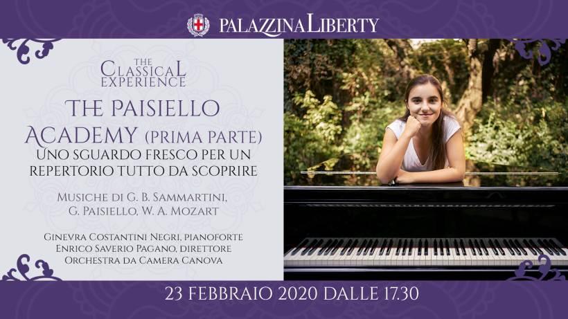 cosa fare domenica 23 febbraio a Milano: The Paisiello Academy