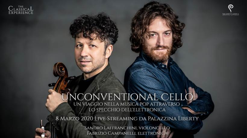 cosa fare domenica 8 marzo a Milano: concerto Unconventional Cello in streaming