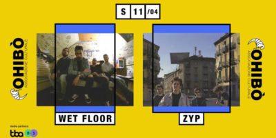 cosa fare a Milano sabato 11 aprile: Wet Floor release show al Circolo Ohibò