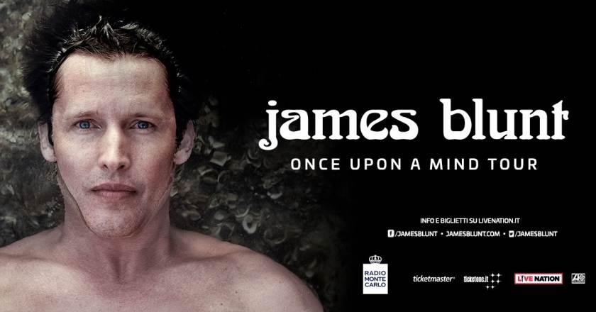 Concerti rinviati a Milano: James Blunt nuova data per il live al Mediolanum Forum