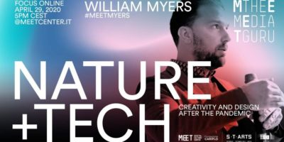 Eventi online del 29 aprile: Meet the Media Guru accoglie William Myers con Nature + Tech