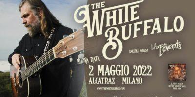 THE WHITE BUFFALO - Posticipo all'anno prossimo per la DATA UNICA in Italia con il nuovo album