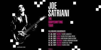 Covid-19, concerti rinviati a Milano: nuova data per il live di Joe Satriani al Teatro dal Verme