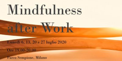 Mindfulness after Work: 4 incontri di gruppo nel cuore verde di Milano