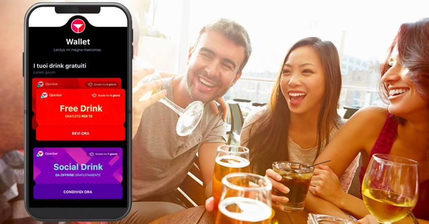 Free drink a Milano con la app Openbar