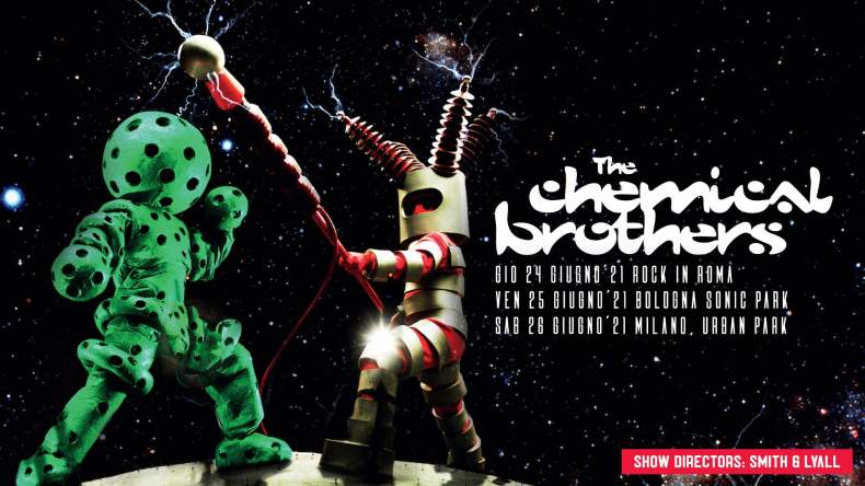 Concerti a Milano: annunciata nuova data per i Chemical Brothers all'Urban Park