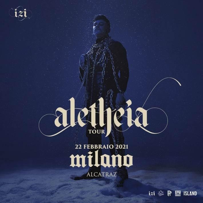 Concerti rinviati a Milano: nuova data per il live di IZI all'Alcatraz