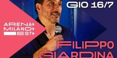 Stand up comedy: Filippo Giardina porta le sue Formiche ad Arena Milano Est
