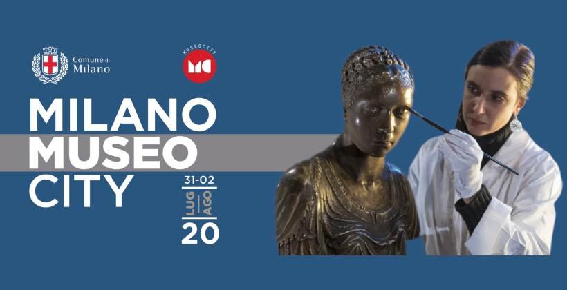 Milano MuseoCity: eventi online e nei musei della città dal 31 luglio al 2 agosto