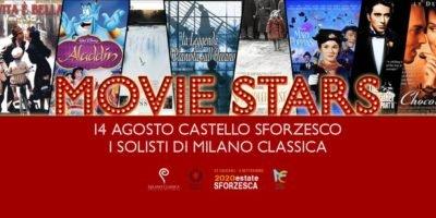 Movie Stars concerto Milano Classica