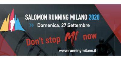 Salomon Running Milano 2020: costi percorsi e modalità iscrizione
