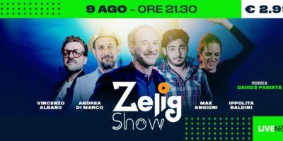 Estate Sforzesca: domenica 9 agosto Zelig Show Summer Edition a Milano per Estate Sforzesca