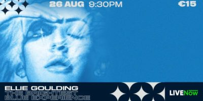 Eventi online del 26 agosto: Ellie Goulding's The Brightest Blue Experience