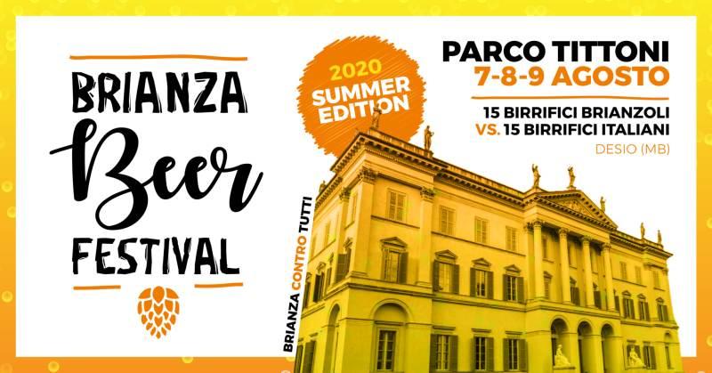 cosa fare sabato 8 agosto in Lombardia: Brianza Beer Festival