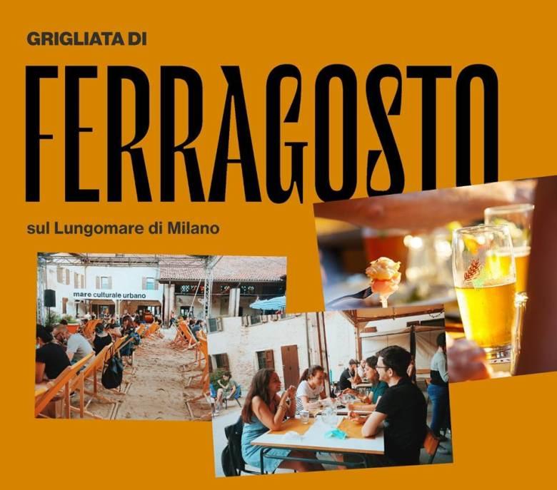 Grigliata di Ferragosto al Mare culturale urbano di Milano