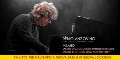 concerto remo anzovino palazzina liberty Milano
