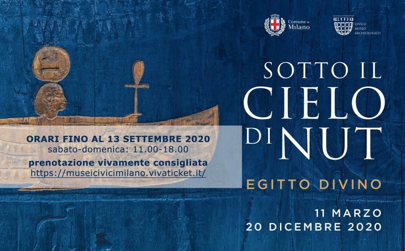 cosa fare domenica 30 agosto a Milano: mostra Sotto il cielo di Nut