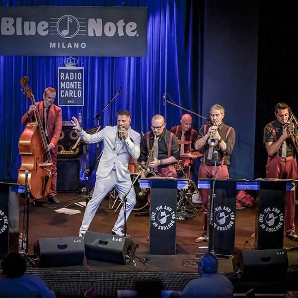 Blue Note Milano concerti di settembre 2020: Vik and the Doctors of Jive
